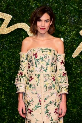Alexa Chung - 2015 British Fashion Awards @ the London Coliseum in London - 11/23/15