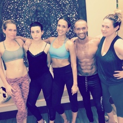 Jessica Alba at Yoga Class - 2/9/15