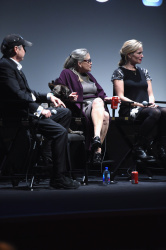 Carrie Fisher - Bright Lights Into and Q&A at the 54th New York Film Festival @ Alice Tully Hall in NYC - 10/10/16