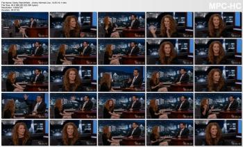 Darby Stanchfield - Jimmy Kimmel Live - 9-25-14