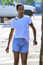 Zoe Saldana - Out in Studio City 8/5/17