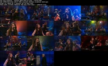 Sara Bareilles - Tonight Show with Jay Leno - 1-31-14