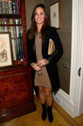 Pippa Middleton - 'The Family Kitchen' book launch in London 11/13/13