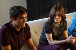 Lucy Hale - Pretty Little Liars Season 7 Episode 2 Promotional Stills