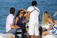 Nina Dobrev with her boyfriend Austin Stowell in Saint-Tropez (July 24) SJ5ZGB0P