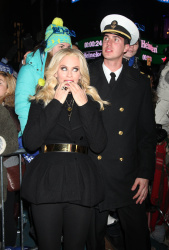 Jenny McCarthy - New Year's Eve 2013 at Times Square in NYC 12/31/12
