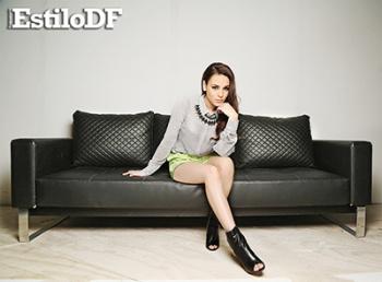 Danna Paola sexy para Estilo DF Octubre 2014 [FOTOS] 12