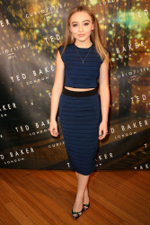 Sabrina Carpenter - Ted Baker London Autumn/Winter Launch Event @ The Carondelet House in Los Angeles - 08/12/15