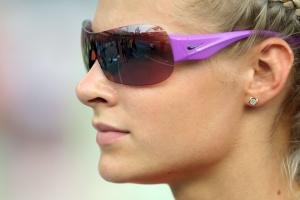 Дарья Клишина, фото 38. Darya Klishina 13th IAAF World Athletics Championship, Daegu, South Korea - 28.08.2011, foto 38