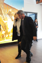 Sean Penn - Sean Penn and Charlize Theron - depart from Rome after a Valentine's Day weekend - February 15, 2015 (37xHQ) Xd2IfQty