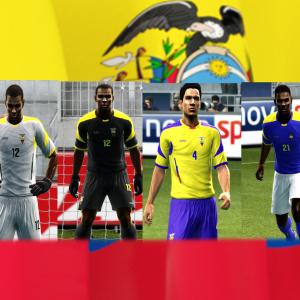 PES 2013 Ecuador WC 2014 Kits Update by argyris