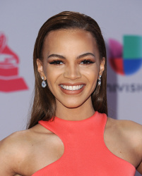 Leslie Grace - 16th Annual Latin GRAMMY Awards @ the MGM Grand Garden Arena in Las Vegas - 11/19/15