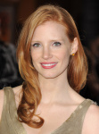 "Jessica Chastain - ""I Am Number Four"" LA premiere 2/9/11"