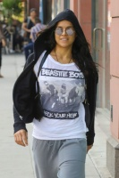 Michelle Rodriguez - Out and About in Beverly Hills 10/7/16