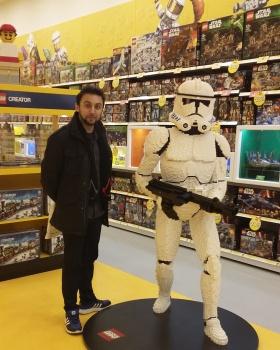 Star Wars LEGO Tie Stiker vs LEGO U-Wing T0TSDfq7