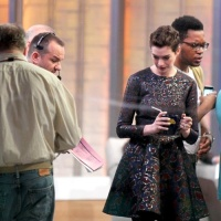 Anne Hathaway Good Morning America April 8, 2014
