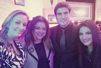 Fotos Maite Perroni y Daniel Arenas en Evento de Telenovelas