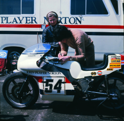 1973 F750 John Player Norton