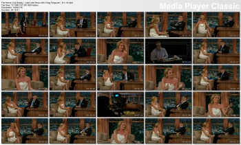 Cat Deeley - Late Late Show with Craig Ferguson - 8-1-14