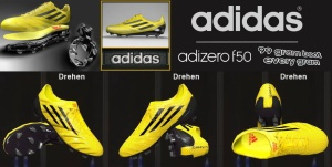 Download PES 2014 Adidas adizero '99gram Yellow/Black