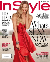 Karlie Kloss -                       InStyle Magazine (Australia) August 2017 Carter Smith Photos.