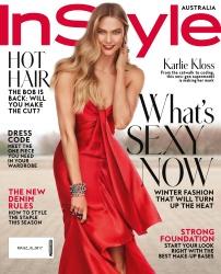 Karlie Kloss -                       InStyle Magazine (Australia) August 2017 Carter Smith Photos.