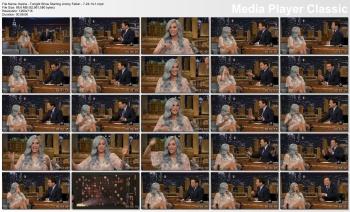 Kesha - Tonight Show Starring Jimmy Fallon - 7-24-14