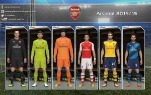 Download PES 2014 Arsenal 2014/15 GDB by Nemanja
