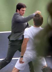 "Ian Somerhalder - Has a Fight Scene on the Set of ""Time Framed"" 2012.10.21 - 22xHQ IegtGEhU"