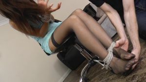 Images - Tickled in Stockings