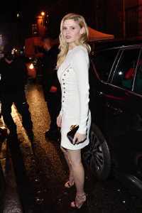 Lara Stone - Seen at the L'Oreal Dinner at Le Grand Colbert During Paris Fashion Week - March 5th 2017
