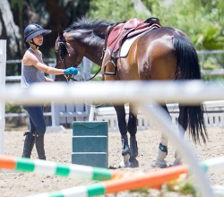 Kaley Cuoco Riding a Horse in L.A. - 6/24/15