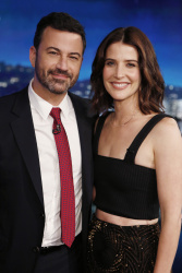 Cobie Smulders - Jimmy Kimmel Live: October 17th 2016