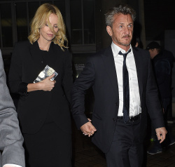 Sean Penn - Charlize Theron and Sean Penn - seen leaving Royal Festival Hall. London - February 16, 2015 (153xHQ) S7BFwWWY