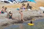Doutzen Kroes - at the beach in Ibiza, Spain 8/15/17