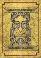 Gemini Saga Gold Cloth AdlVYNGC