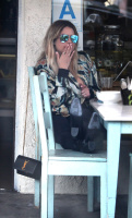 Ashley Benson - Having lunch in Studio City 4/25/17