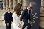 Catherine The Duchess of Cambridge Arrives 7