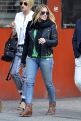Hilary Duff - out in NYC 5/1/13