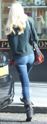 Claudia Schiffer - out in London 4/17/13