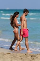 Jamie Dornan - At the beach with his girlfriend, Amelia Warner in Miami - January 17, 2013 - 25xHQ U7JaqD1d