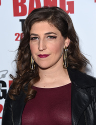 Mayim Bialik - The Big Bang Theory 200th Episode Celebration @ Vibiana in Los Angeles - 02/20/16