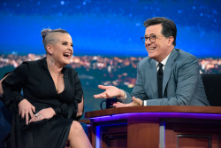 Kelly Osbourne - The Late Show with Stephen Colbert: April 25th 2017