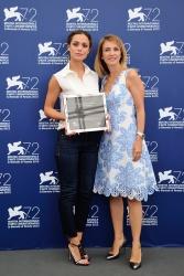 Valeria Bilello - 72nd Venice Film Festival L'Oreal Paris Award For Cinema Photocall in Venice - 09/10/15