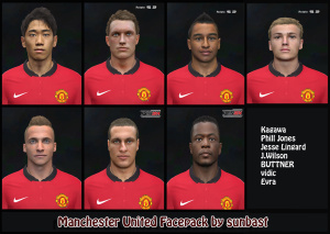 Download Manchester United Facepack by sunbast