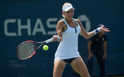 Elena Vesnina - 2015 US Open Day Two: 1st Round vs. Laura Robson @ BJK National Tennis Center in Flushing Meadows - 09/01/15