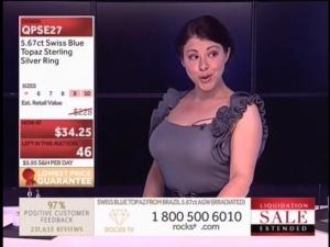 Lara-de-Leuw Rocks TV Host Caps