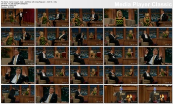 Carrie Keagan - Late Late Show with Craig Ferguson - 5-23-14