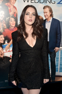 Elizabeth Gillies - 'My Big Fat Greek Wedding 2' Premiere NYC - 3/15/16