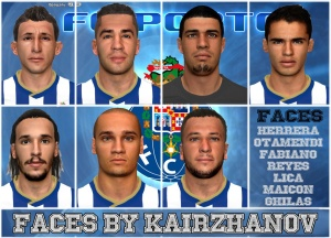 Download PES 2014 FC PORTO FACEPACK by Kairzhanov